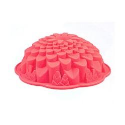 Хризантема - силиконовая форма для выпечки и  желе