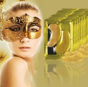 Gold Mask - коллагеновая маска для области вокруг глаз
