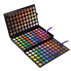 Палетка теней 180 цветов: макияж на все случаи жизни
