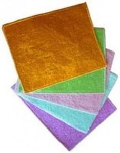 Салфетка для уборки дома с добавлением бамбукового волокна