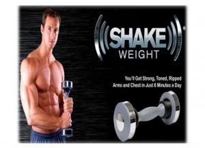 Shake Weight - тренажер-гантеля (мужская)