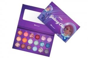 Galaxy Chic BH Cosmetics палитра 18 цветов