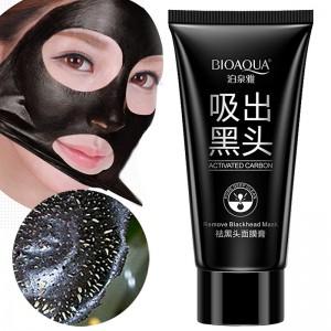 Черная маска для лица Bioaqua