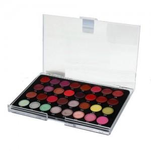Палитра 32 цвета: блески, помады, тени,румяна