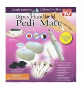 Pedi Mate - набор для педикюра и гладкости ножек!