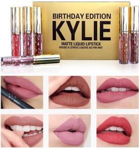 Kylie Birthday Edition набор матовых помад 6 шт.